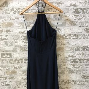 100% silk Navy Dress from J Crew